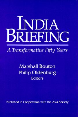 India Briefing By Bouton, Marshall M. (EDT)/ Oldenburg, Philip (EDT)